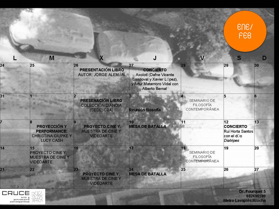 Calendario enero-febrero 2011